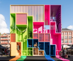 MVRDV Wego Installation in Eindhoven
