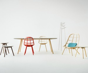 Nadia Chair by Jin Kuramoto Studio