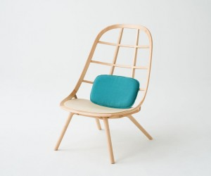 Nadia Chairs by Jin Kuramoto Studio