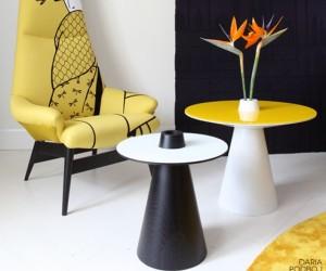 Naoki side tables by Daria Podboj
