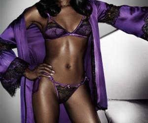 Naomi Campbell Models Her Own Lingerie Line