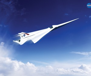 NASA Unveils New Supersonic Passenger Jet