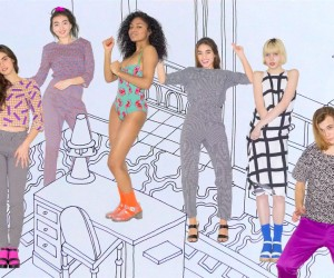 Nathalie Du Pasquier collection for American Apparel