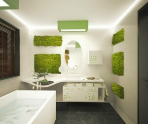 Natural Elements: Bathroom Vegetation