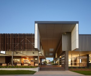 Natural-Industrial Design: Flamboyant Community Center Down Under
