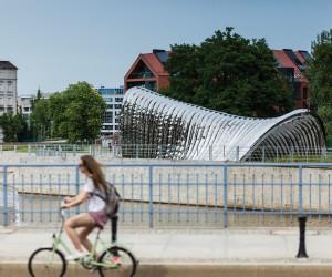 Nawa Pavilion in Wroclaw by Oskar Zieta