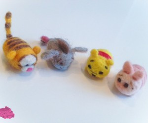Needle Felted Characters