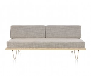 Nelson Daybed with Back Bolsters by George Nelson for Herman Miller