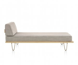 Nelson Daybed with End Bolster by George Nelson for Herman Miller