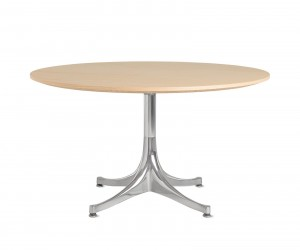 Nelson Pedestal Coffee Table by George Nelson for Herman Miller