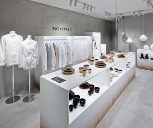 Nendo designs Backyard by | n retail space for Seibu Sogo