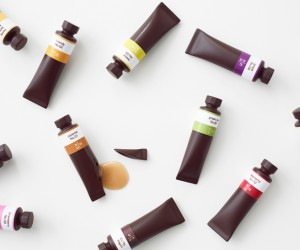 Nendo designs Chocolates like a set of Oil Paints for Seibu