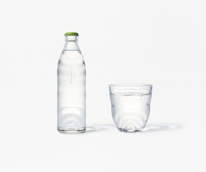 Nendo Designs Glass Bottle For I LOHAS