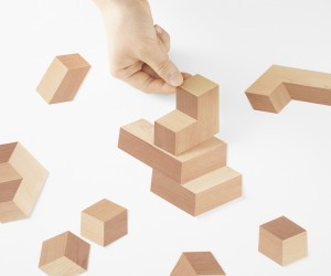 Nendo designs Paper-Bricks for Pen magazine