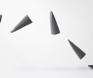 Nendo Designs Triangle Roomshoes