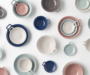 nendos Totte-Plate Tableware Collection