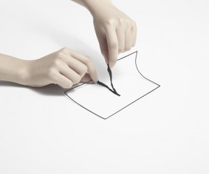 nendos un-printed material exhibition in Tokyo