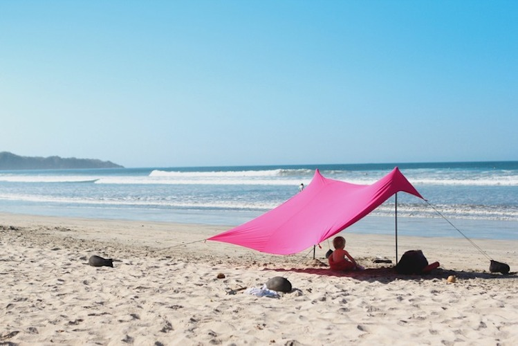 & Neso Tents for Sunshade at the Beach Patent Pending