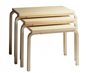 Nesting Table 88 by Alvar Aalto for Artek