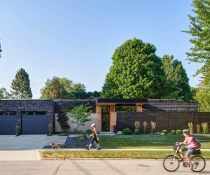Net-Zero Home by Neumann Monson Architects