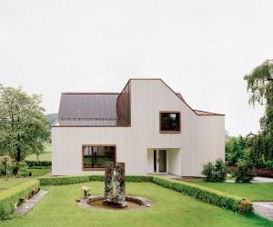 Neubau Kirchgemeindehaus by Menzi Brgler