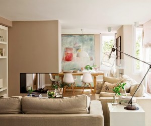 Neutral toned home in Barcelona