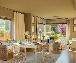 Neutral toned interior in Spain