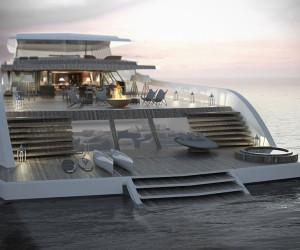 New 55m X-Easy Yacht Concept by Pastrovich Studio