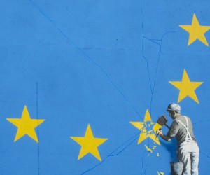 New Banksy Brexit Mural Appears in Dover