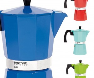 New Colorful Pantone Coffee Pots.