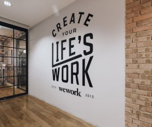 New coworking offices WeWork in London