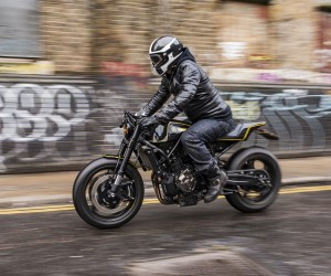 New Double-Style Yard Built XSR700 by Rough Crafts