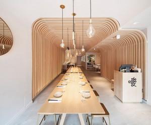 New Practice Studios Hunan Slurp Restaurant In NY