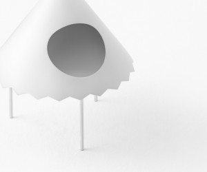 New Side Tables Tent by nendo for Cappellini