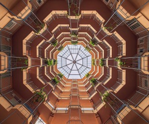 New Symmetrical Architectural Photography by Peter Rajkai