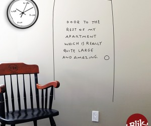 New Wall Clocks and Wall Decals by Artist Dan Golden