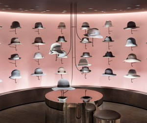 New womens fashion and hat floor for Seibu Shibuya by nendo