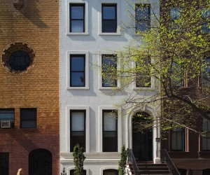 New York Townhouse Renovation by Turett Collaborative Architects