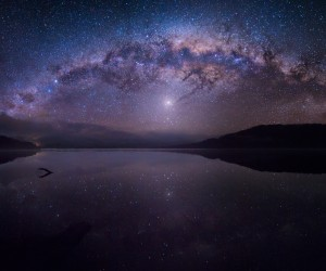 Night Sky Landscapes by Jesse Summers