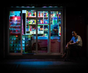 NightShift: Stunning Street Scenes of Shanghai at Night by Florian Mueller