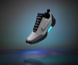 Nikes Back to the Future Auto-Lacing Trainers
