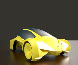 Nikki Kapa designs Audi Cetus City Car