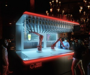 Nino, The First Mass-Market Robotic Bartender