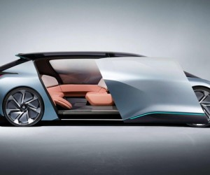 NIO Driverless Electric Car Concept EVE