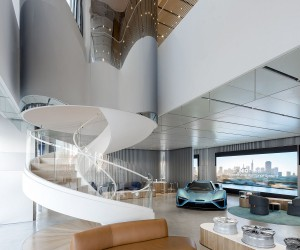 NIO House in Beijing Redefines Your Journey into the World of Electric Cars