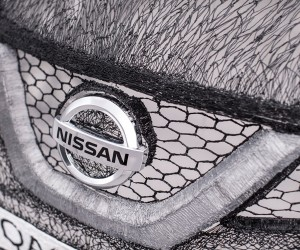 Nissan creates Worlds largest 3D pen sculpture