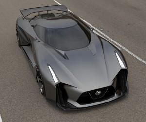 Nissan Unveils Concept 2020 Vision Gran Turismo