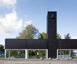 NL Architects transformed containers into Barneveld Noord Bus Station