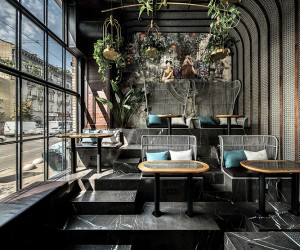 NM Vietnamese Restaurant in Kiev by YOD Design Lab