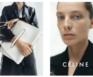 No Makeup: Daria Werbowy for Celines Resort 2015